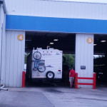 Getting 3 more new trailer tires put on.