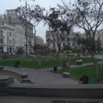 Lima's Plaza San Martin