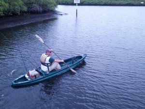 Paddling the Loxahatchee River (Jupiter, FL)