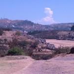 Overlooking Saqsaywaman Ruins