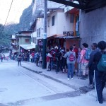 Line for the Bus