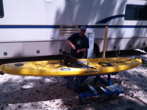 Kayak Chris Adding Components
