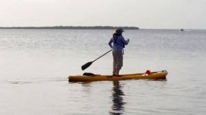 Versa Boarding in Black Water Sound
