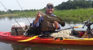 Snakehead caught in Aquia Creek