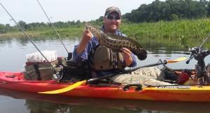 Snakehead caught in Aquia Creek