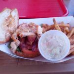 "Lobster BLT at ""Key Largo Fisheries"""